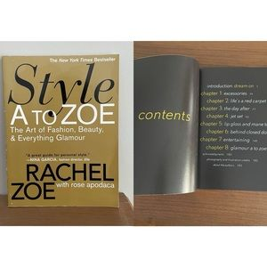 Fashion Guide: Style A to Zoe (Book) NWT